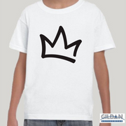 XK Crown - Toddlers White Tee