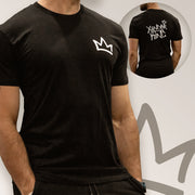 XK Crown (Mini) - Mens Black Tee