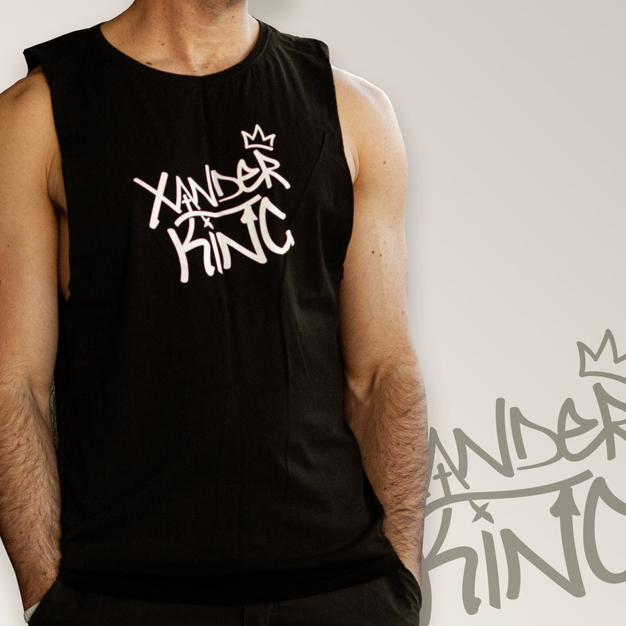 XK Logo - Mens Black Tank