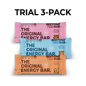 Try 3 Beeyond bars for FREE, just cover $3.95 shipping!