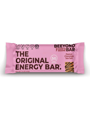 Peanut Chocolate Sea Salt - Beeyond Bar