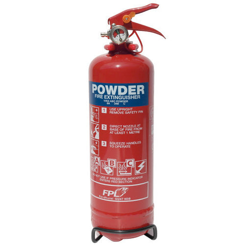 Fire Extinguisher 2Kg Dry Powder -  Chevron Kit from the Chevron Warehouse