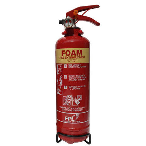 Fire Extinguisher 1 Ltr Foam -  Chevron Kit from the Chevron Warehouse