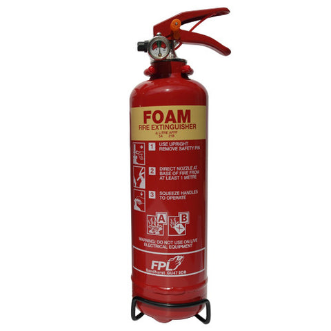 Fire Extinguisher 2 Ltr Foam -  Chevron Kit from the Chevron Warehouse