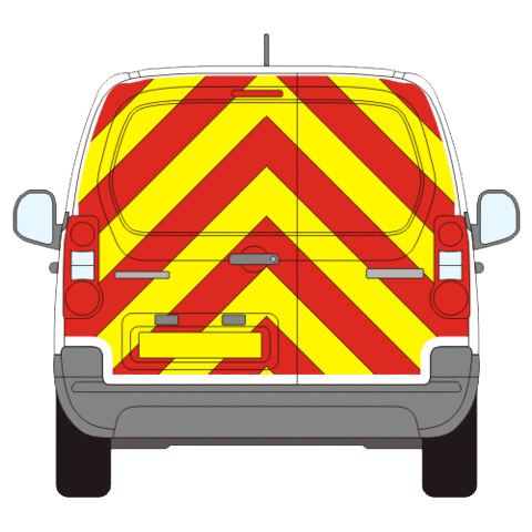 Citroen Berlingo Full Chevron Kit (2008-) -  Chevron Kit from the Chevron Warehouse