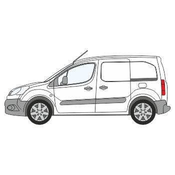 Citroen Berlingo Half Chevron Kit (2008-) -  Chevron Kit from the Chevron Warehouse