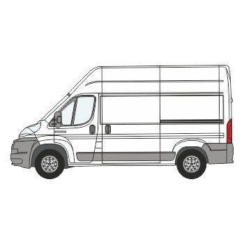 Citroen Relay Full Chevron Kit with Window cut-outs (2006-) (High Roof) -  Chevron Kit from the Chevron Warehouse