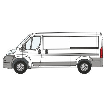 Citroen Relay Full Chevron Kit (2006-) (Low Roof) -  Chevron Kit from the Chevron Warehouse