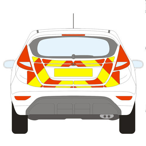 Ford Fiesta Full Chevron Kit (2008 -) -  Chevron Kit from the Chevron Warehouse