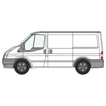 Ford Transit Full Chevron Kit with Window cut-outs ( 2006 -  2014) (Low Roof) -  Chevron Kit from the Chevron Warehouse