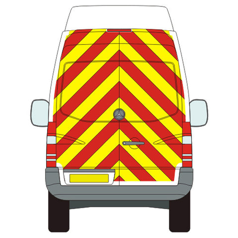 Mercedes-Benz Sprinter Full Chevron Kit (2006-) (Medium / High Roof) -  Chevron Kit from the Chevron Warehouse