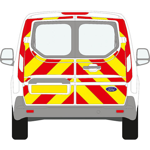 Ford Transit Connect Windowless Chevron Kit (2014 to Present) -  Chevron Kit from the Chevron Warehouse
