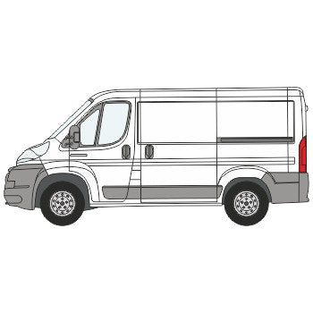Peugeot Boxer Full Chevron Kit (2006-) (Low Roof) -  Chevron Kit from the Chevron Warehouse