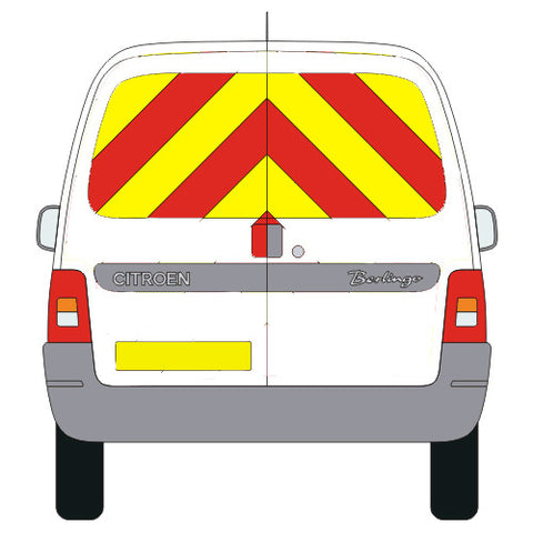 Citroen Berlingo (first) Windows only Kit (2002-2011) -  Chevron Kit from the Chevron Warehouse