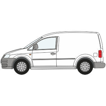 VW Caddy Full Chevron Kit with Window cut-outs (2010-) -  Chevron Kit from the Chevron Warehouse