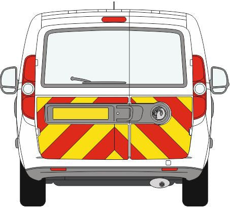 vauxhall Combo Half Chevron Kit (2012 - PRESENT) -  Chevron Kit from the Chevron Warehouse