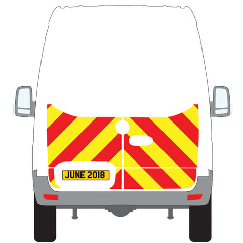 Mercedes-Benz Sprinter Half Chevron Kit (2018 - Onwards) -  Chevron Kit from the Chevron Warehouse