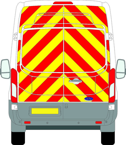Ford Transit Full Chevron Kit (2014 - ONWARDS) (High Roof) -  Chevron Kit from the Chevron Warehouse