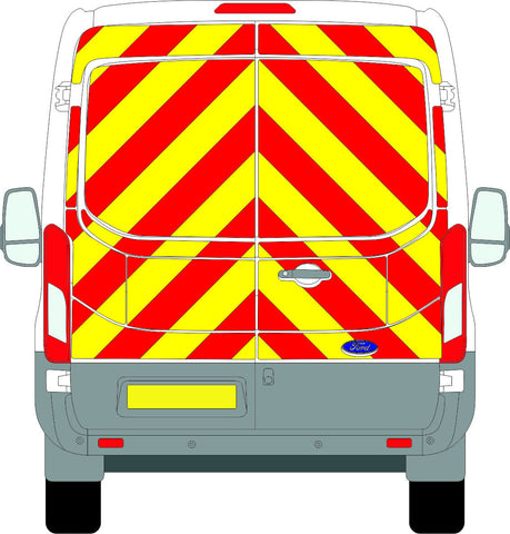 Ford Transit Full Chevron Kit (2014-2015) (Medium Roof) -  Chevron Kit from the Chevron Warehouse