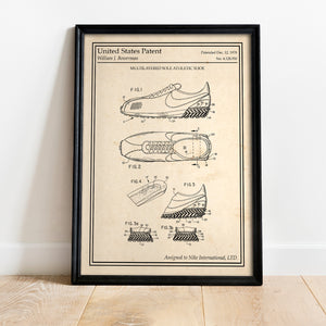Poster original nike running cortez old school