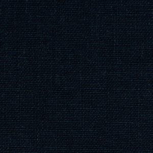 blue navy polyester blend linen fabric used for drapery bedding cushions and pillows