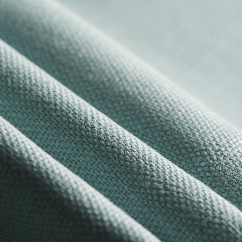 green blue linen performance fabric used for upholstery and cushions