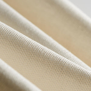 white linen performance fabric used for upholstery and cushions