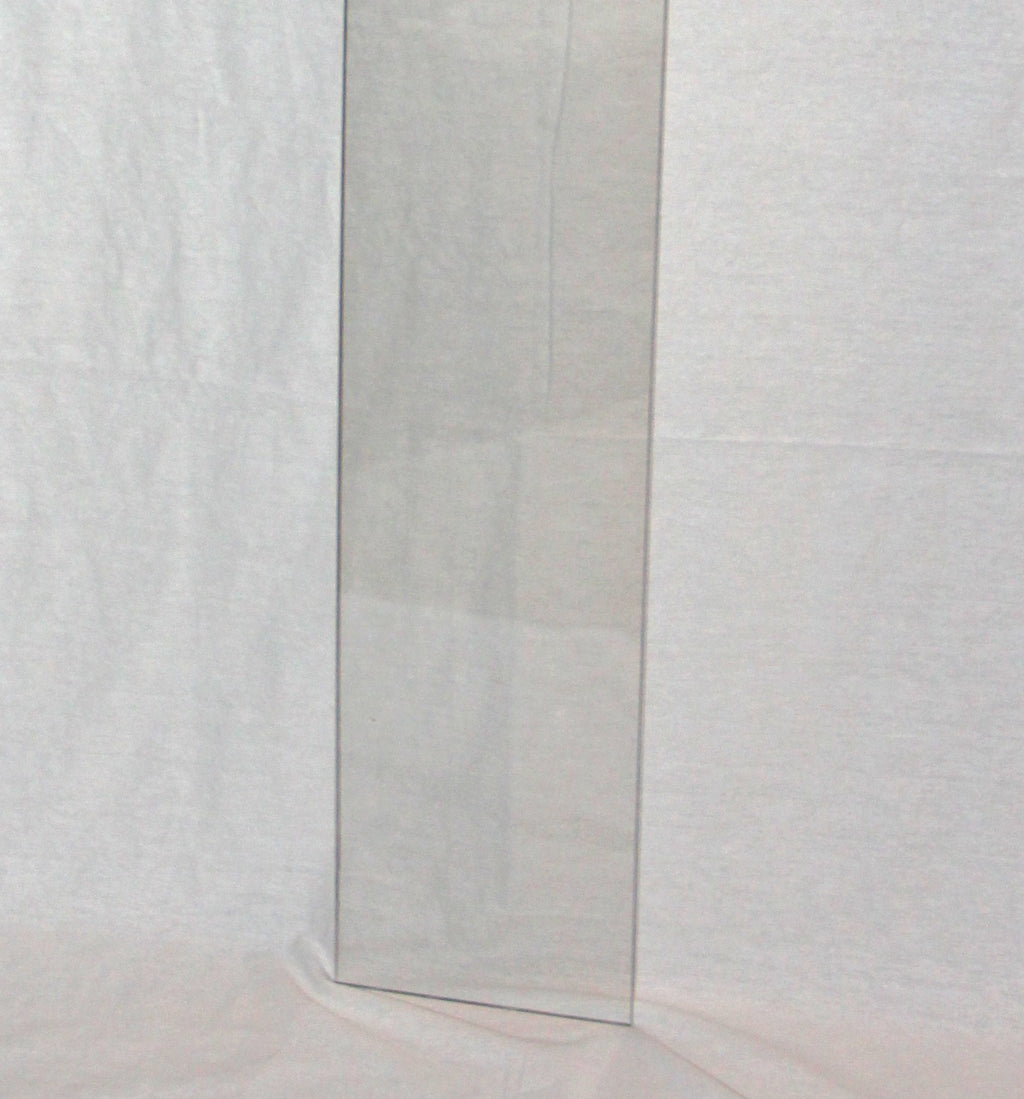 plexiglass ruler used for roman shade ring spacing