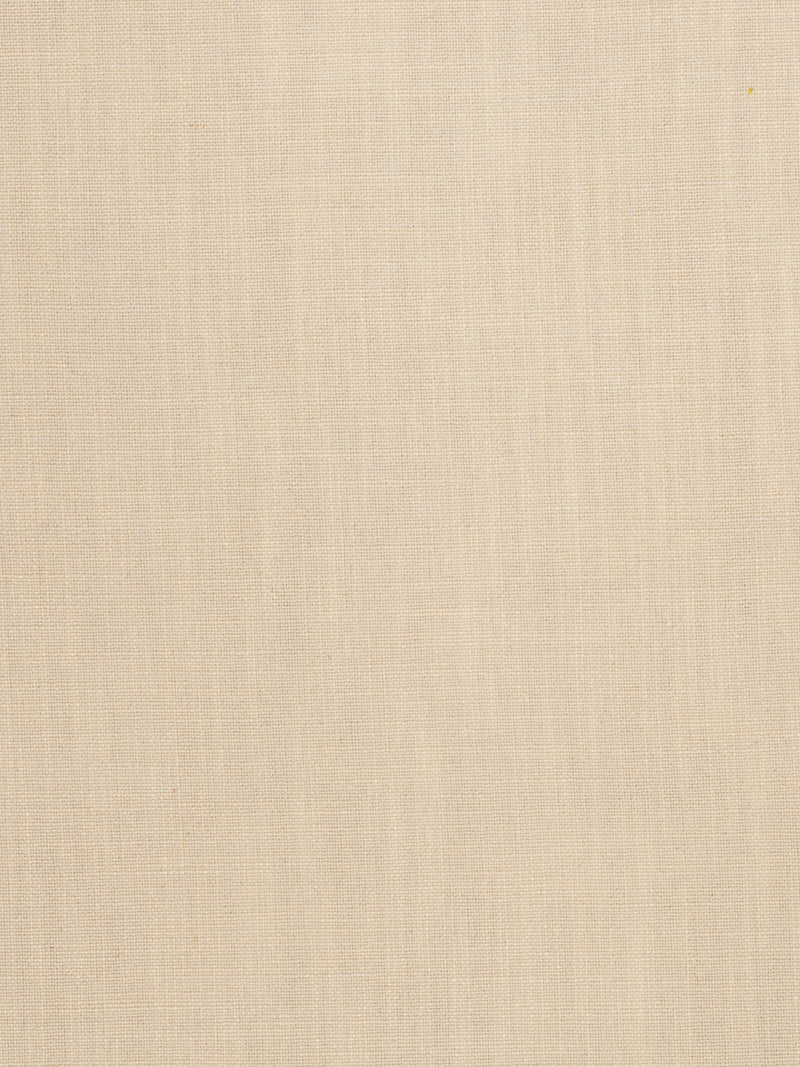 beige tan polyester linen blend fabric used for drapery cushions bedding and pillows