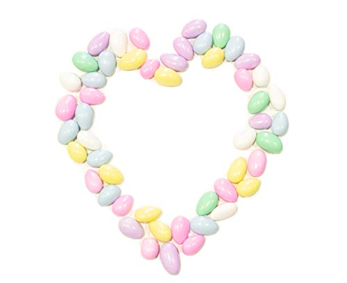 Sally in Colorado - Jordan Almonds Wedding Holiday Party Favor Candies in Colorful Assorted Pastel Mix (24 oz) by Sohnrey Family Foods …