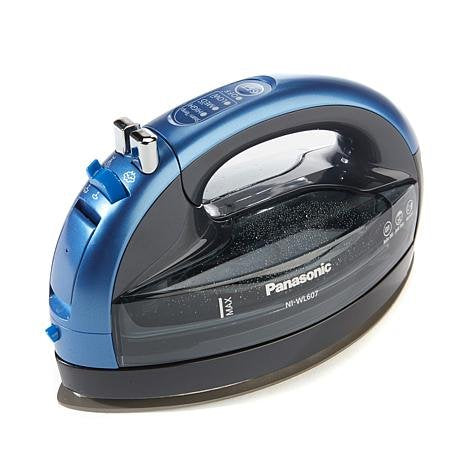 Irons: The official Rock Star DREAM SEWING IRON! Panasonic 360º Freestyle Advanced Ceramic Cordless Iron NI-WL607 Blue - more colors available.
