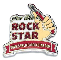 Pin - Sew Like A Rock Star - Original