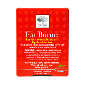 Fat Burner 60 tablettia / 63,6 g.