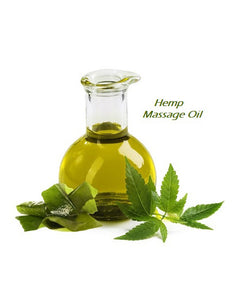 Massage oil (with hemp extract)