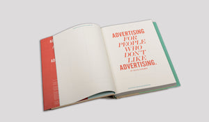 Advertising For People Who Don't Like Advertising by Erik Kessels *SIGNED*