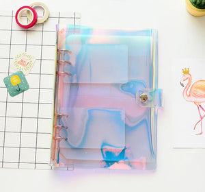 Scrapbook Supplies Organizer with Inner Sheets
