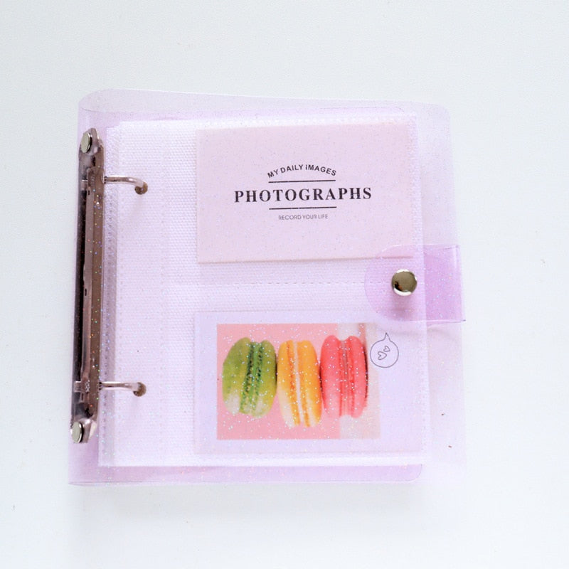Instax Mini Glitter Photo Album