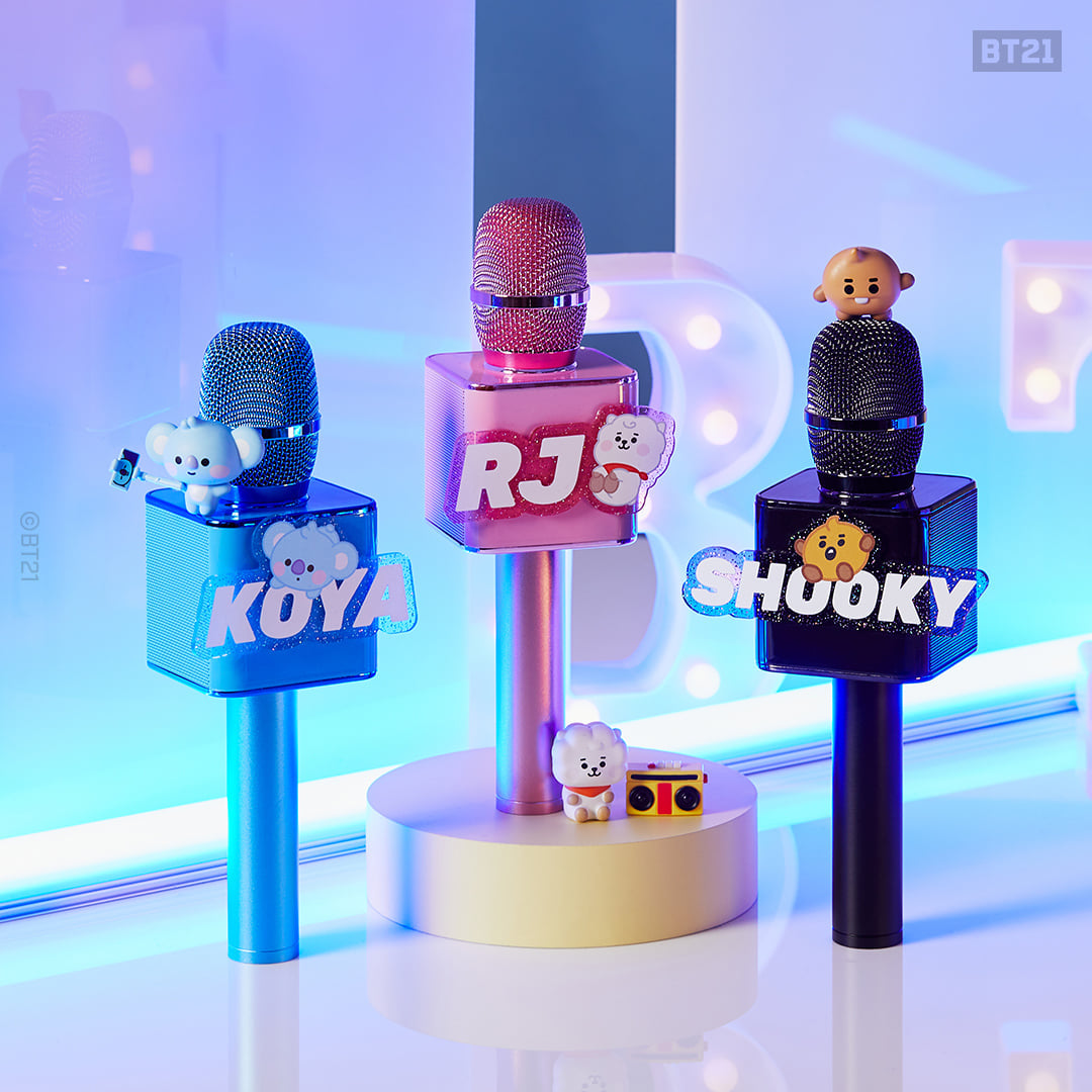 [Official] BT21 BABY Bluetooth Microphone
