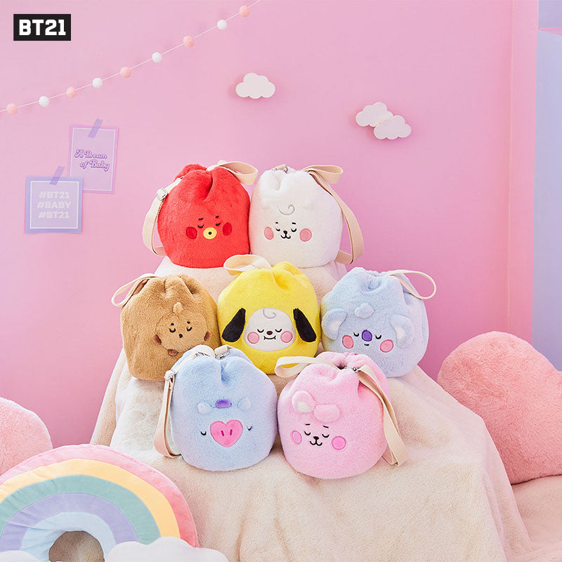 "[Official] BT21 ""A DREAM OF BABY"" IN BUCKET BAG"