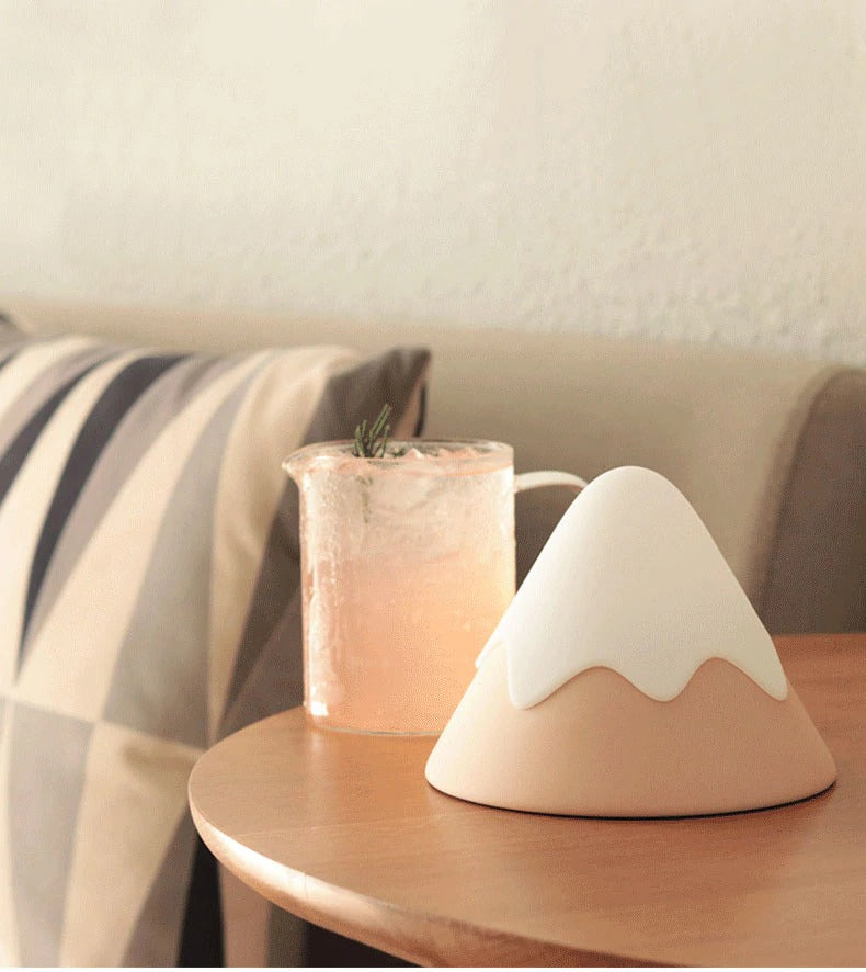 Mini Fuji Soft Silicone Lamp