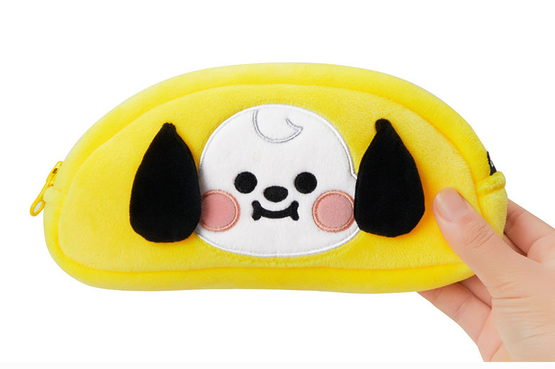 [Official] BT21 BABY PLUSH PENCIL CASE