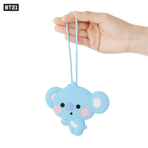 [Official] BT21 BABY SILICONE NAME TAG