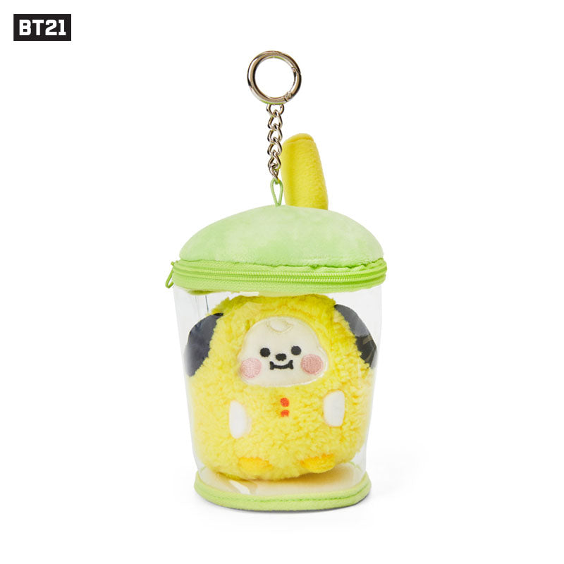 [Official] NEW Arrival BT21 BABY Bubble Tea Bag Charm