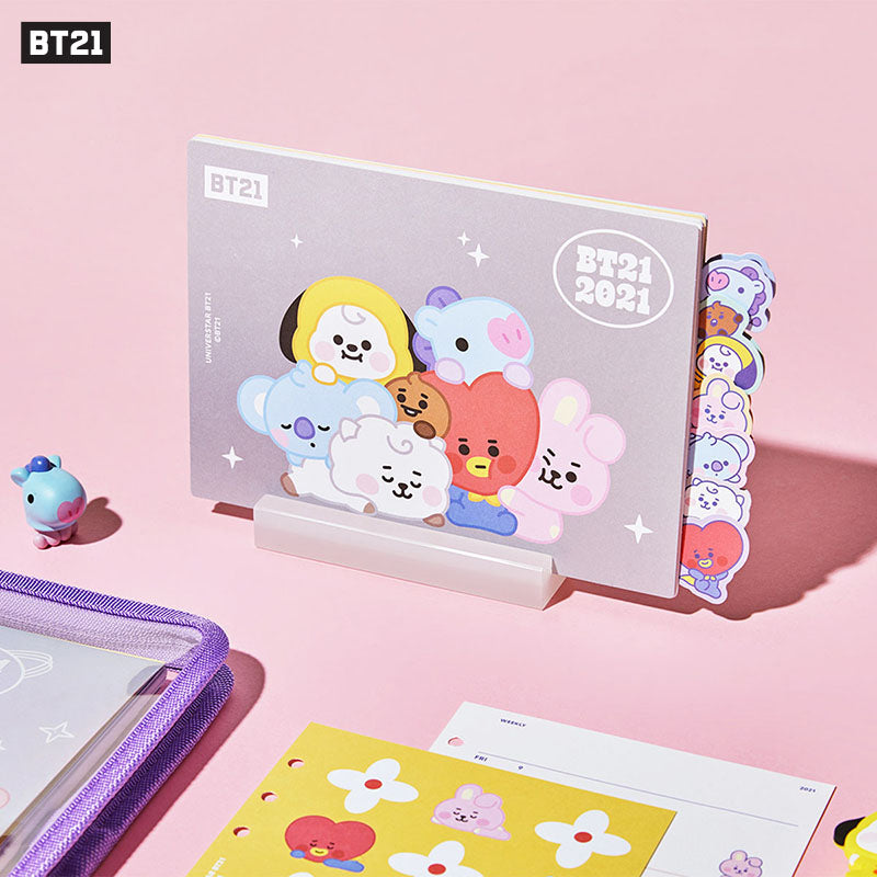[Official] BT21 BABY DESK CALENDAR 2021