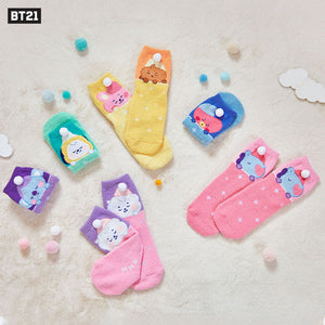 "[Official] BT21 ""A DREAM OF BABY"" IN SLEEP SOCKS"