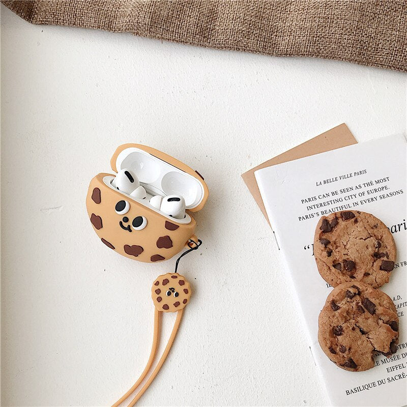 Chocolate Chip Cookie AirPods Cover Case
