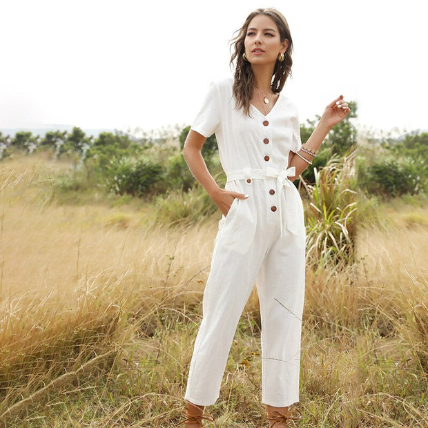 Sunny Day Trousers Jumpsuit