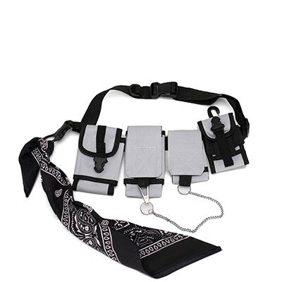 Multi-pocket Travel Phone Belt Bag