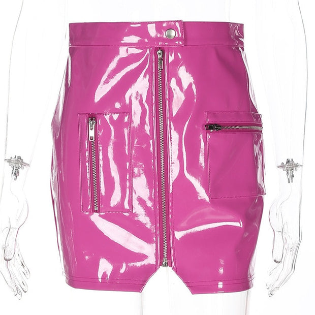Barbie Faux Leather Mini Skirt