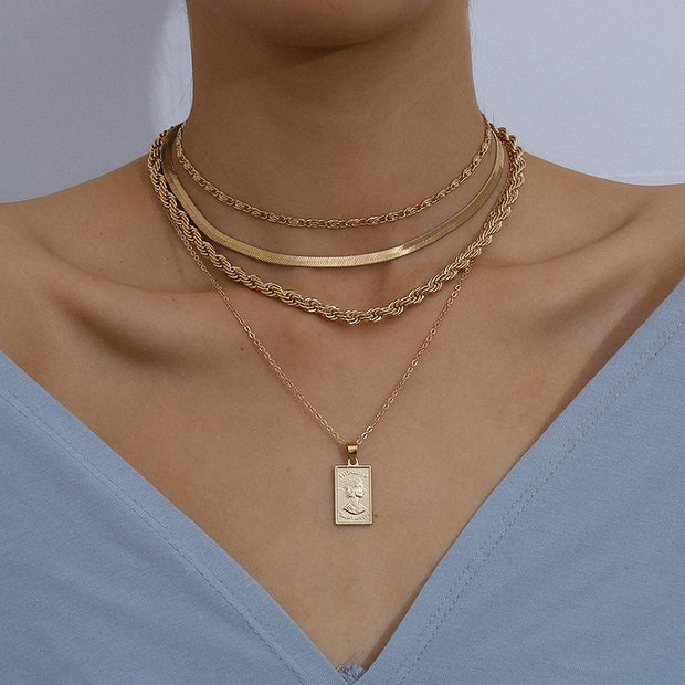 Belle Layered Necklace